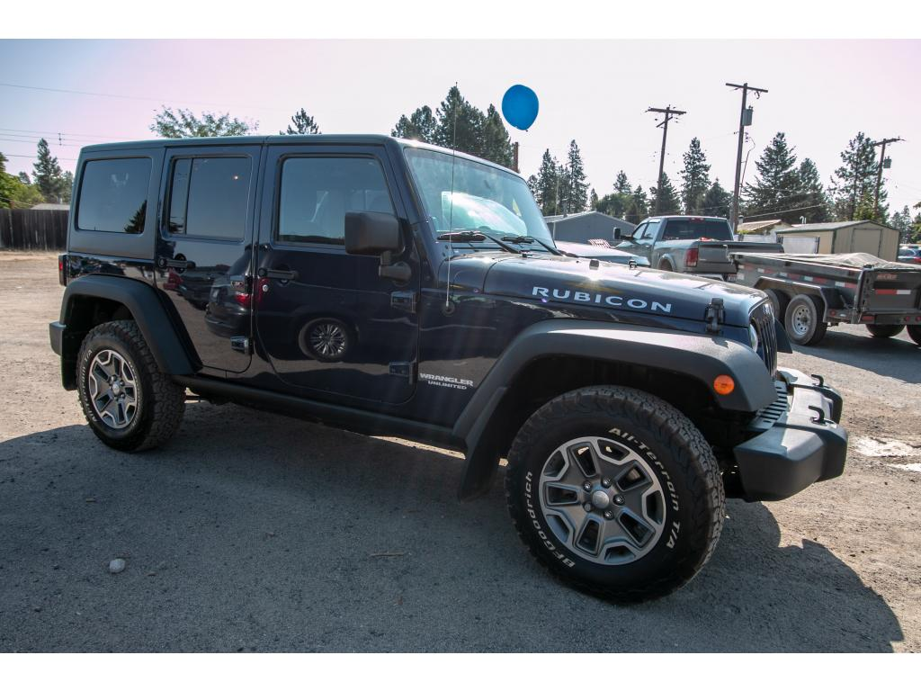 Pre Owned 2013 Jeep Wrangler Unlimited Rubicon 4x4 3.6L V6 Manual SUV