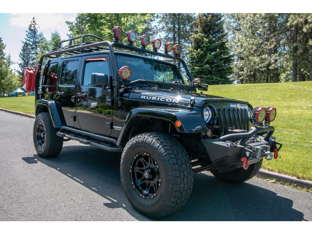 Pre Owned 2015 Jeep Wrangler Unlimited Rubicon 4x4 3.6L V6 SUV