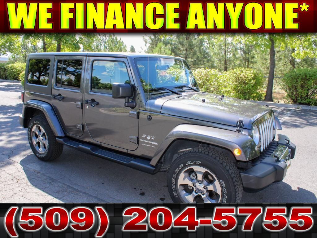 Pre-Owned 2018 Jeep Wrangler Unlimited Sahara 3.6L V6 4x4 SUV