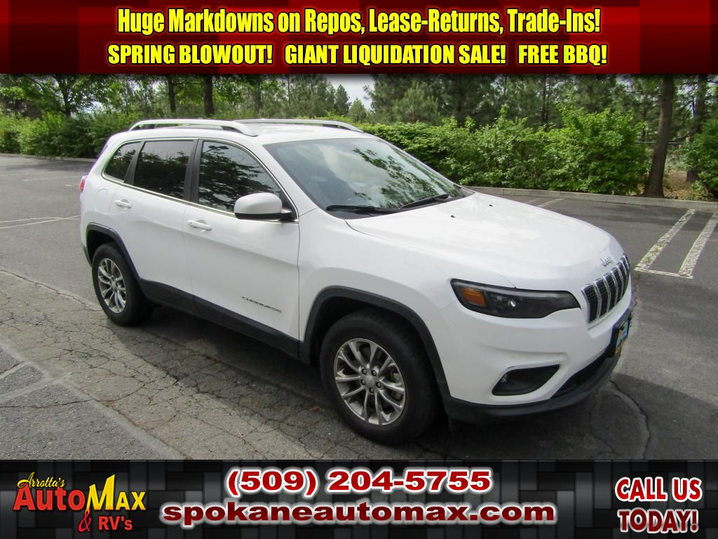 Pre-Owned 2019 Jeep Cherokee Latitude Plus 2.4L All Wheel Drive SUV