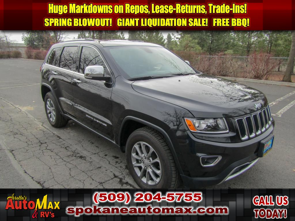 Pre-Owned 2016 Jeep Grand Cherokee Limited 3.6L V6 All Wheel Drive 4x4 SUV