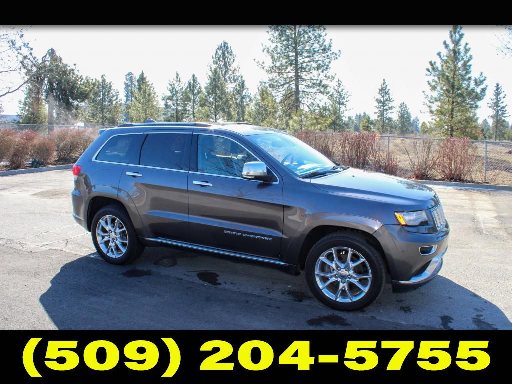 Pre-Owned 2014 Jeep Grand Cherokee Summit 5.7 V8 4x4 SUV