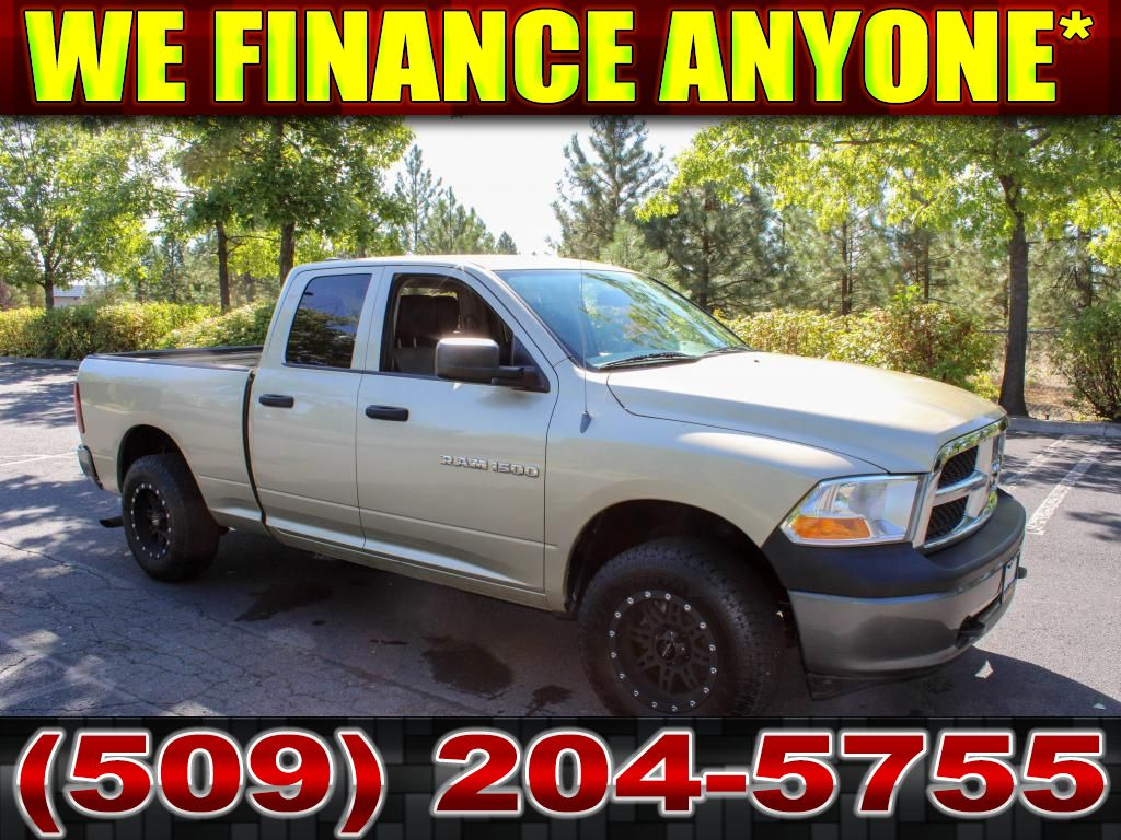 Pre-Owned 2011 Dodge Ram Pickup 1500 ST 4.7L V8 4x4 Truck