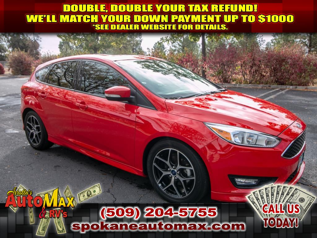 Pre-Owned 2015 Ford Focus SE 2.0L Front Wheel Drive