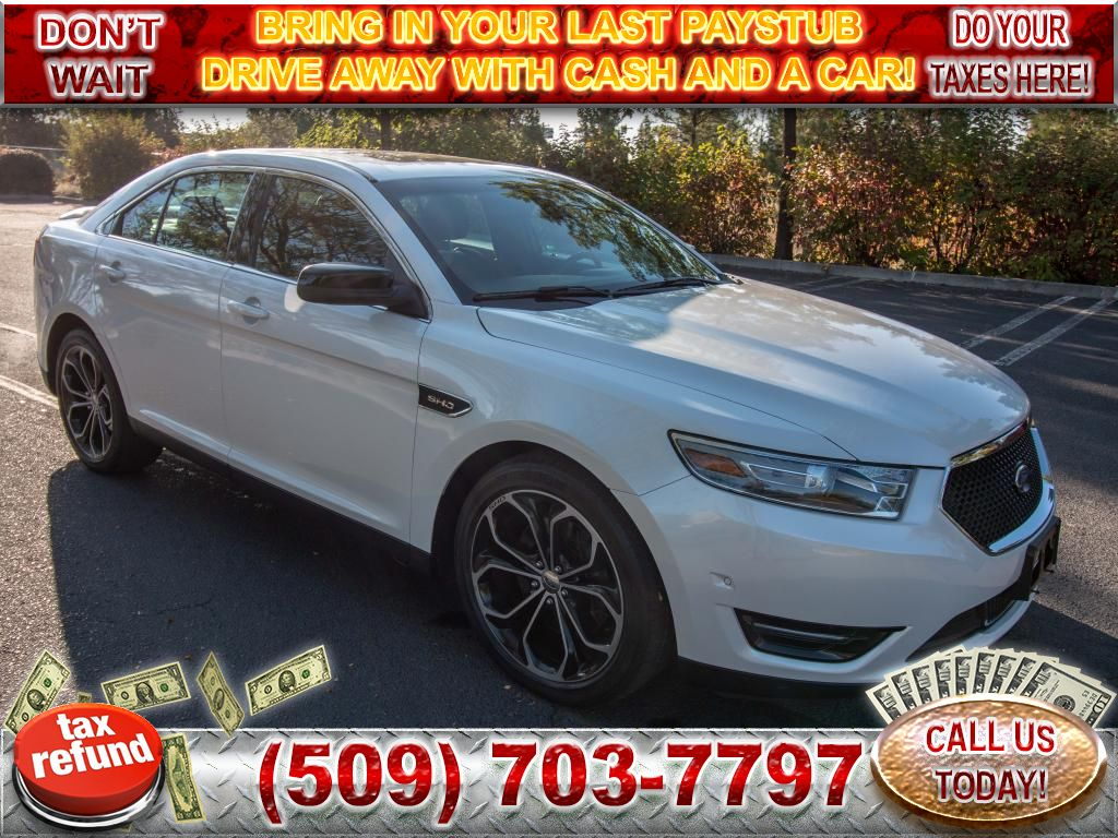 Pre-Owned 2014 Ford Taurus SHO 3.5L V6 EcoBoost All Wheel Drive