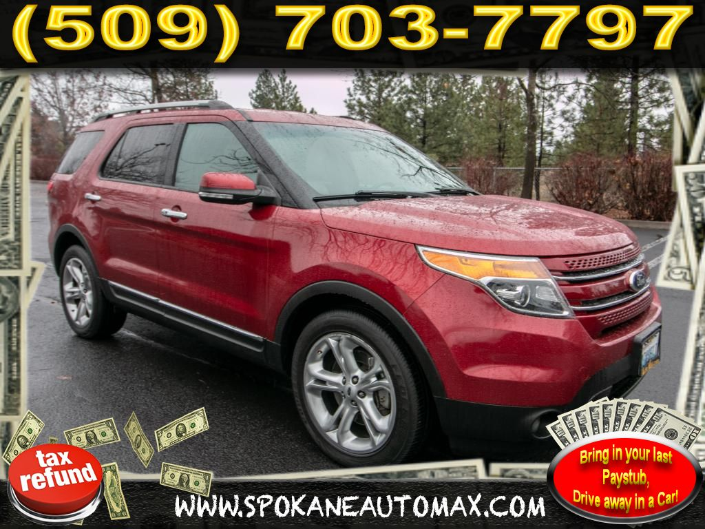 Pre owned 2014 ford explorer limited 3 5l v6 all wheel drive 4x4 suv