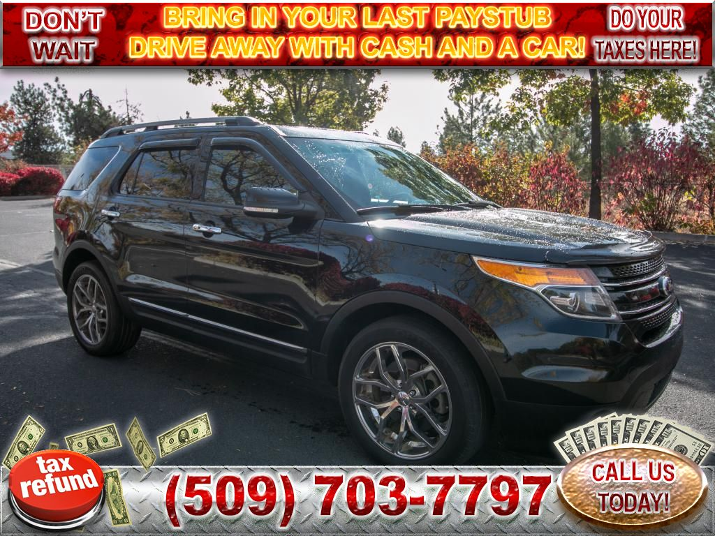 Pre-Owned 2013 Ford Explorer Limited 3.5L V6 4x4 SUV