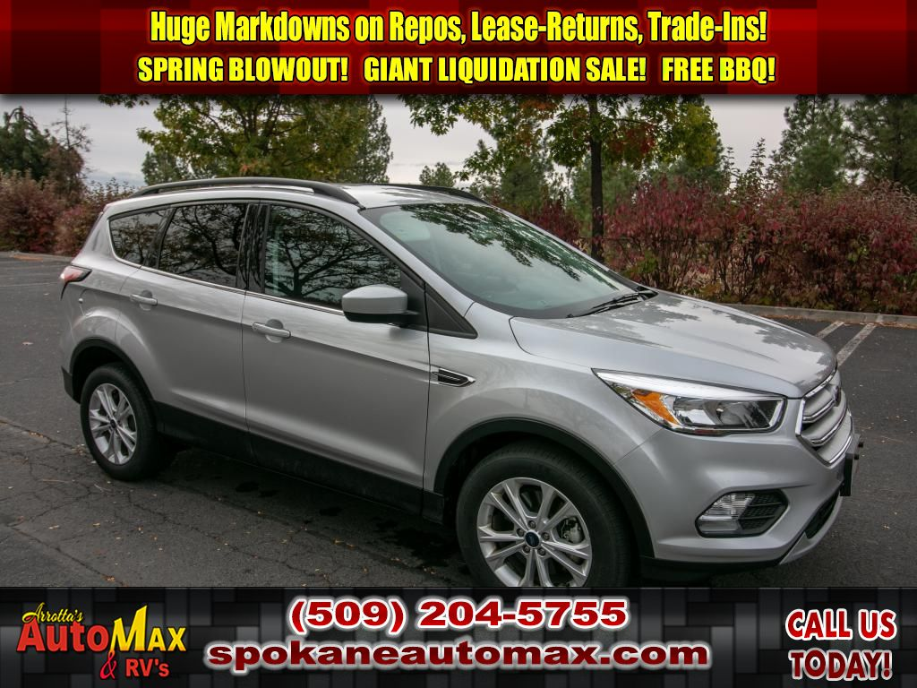 Pre Owned 2018 Ford Escape Se 1 5l 4x4 Suv 4wd In Spokane