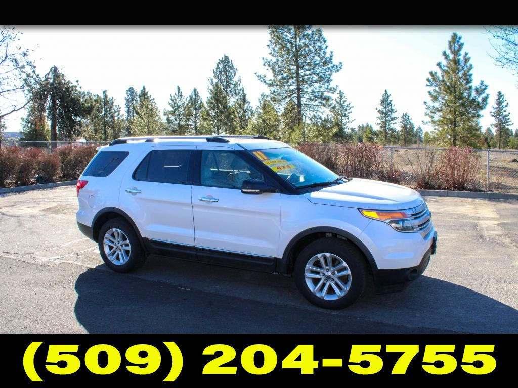 Pre-Owned 2011 Ford Explorer XLT 3.5L V6 4x4 SUV