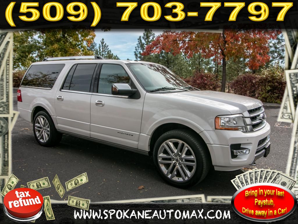 Pre owned 2016 ford expedition el platinum edition 3 5l v6 4v4 suv