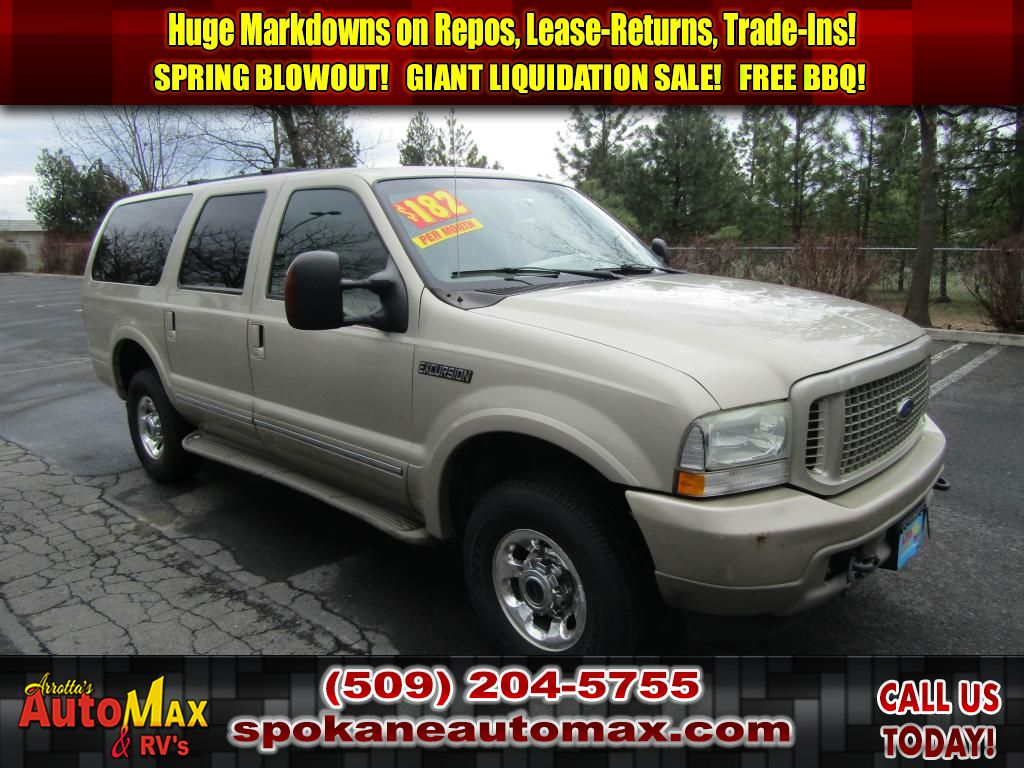 Pre-Owned 2004 Ford Excursion Limited 6.0L V8 4x4 Diesel SUV