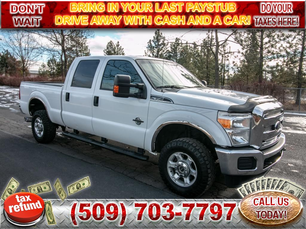 Pre-Owned 2013 Ford F-350 Super Duty XLT 6.7L V8 4x4 Diesel Truck