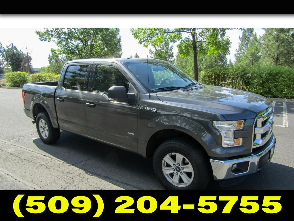 Pre-Owned 2015 Ford F-150 XLT ECOBOOST CREWCAB 4X4