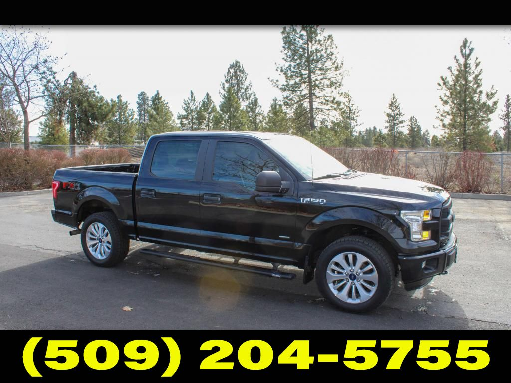 Pre-Owned 2016 Ford F-150 XL FX4 2.7L V6 4x4 EcoBoost Truck