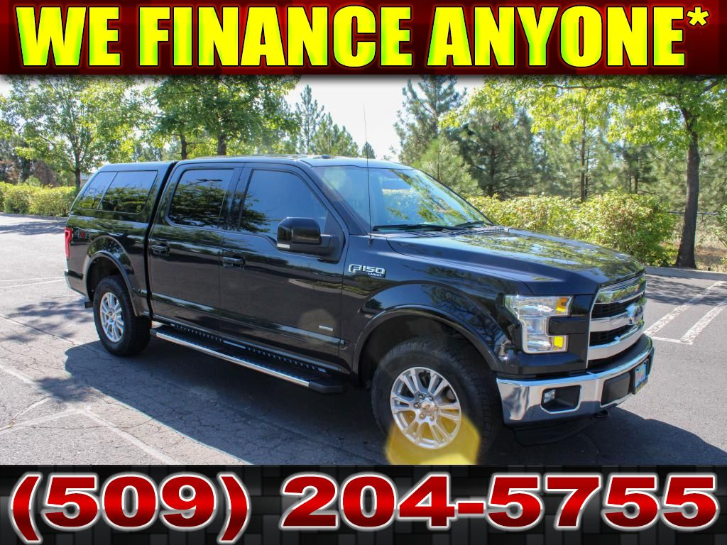 Pre-Owned 2015 Ford F-150 LARIAT V6 4x4 EcoBoost Fully loaded