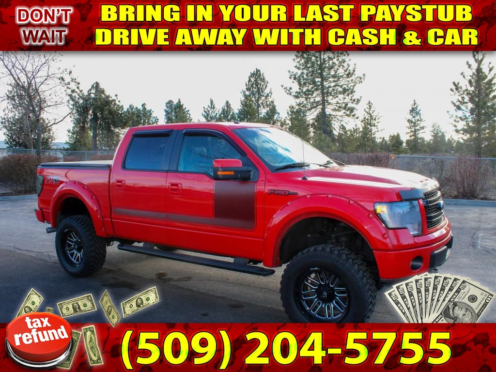 Pre-Owned 2013 Ford F-150 FX4 5.0L V8 4x4 Pickup Truck