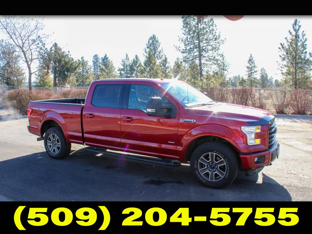 Pre-Owned 2016 Ford F-150 XLT 3.5L V6 4x4 Pickup Truck