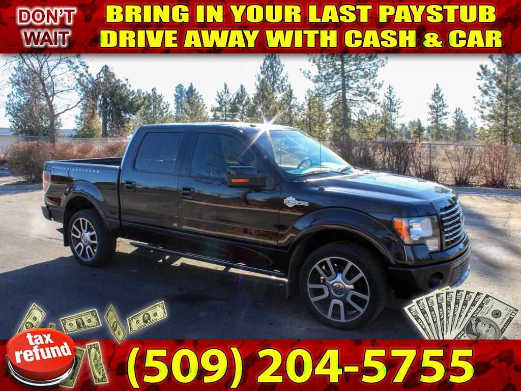 Pre-Owned 2010 Ford F-150 Harley-Davidson 5.4L V8 4x4 Truck