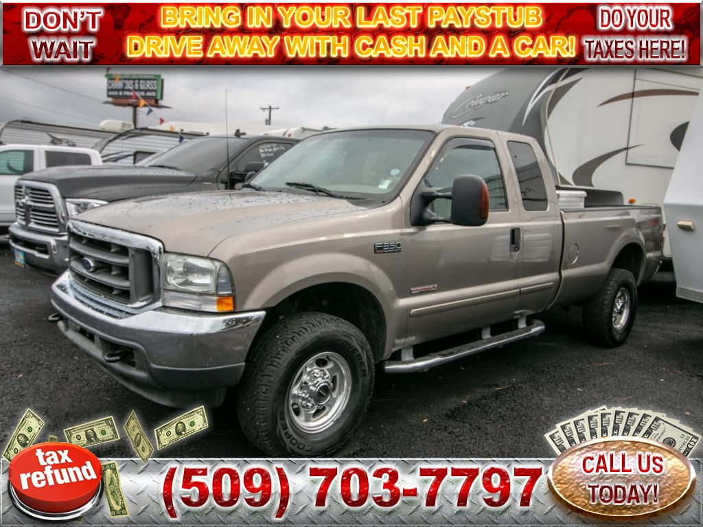 Pre-Owned 2003 Ford F-350 Super Duty Lariat 4x4 6.0L V8 Diesel Pickup Truck
