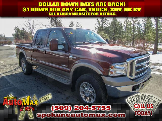 Pre-Owned 2007 Ford F-350 Super Duty King Ranch 6.0L V8 4x4 Truck