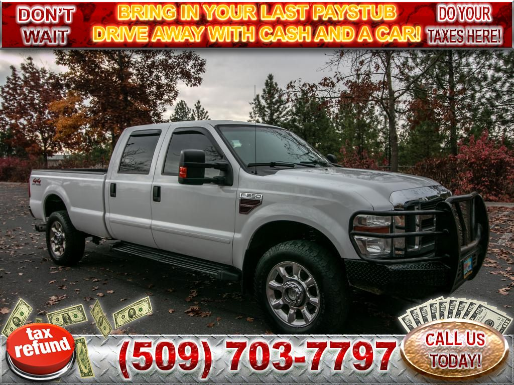 Pre-Owned 2008 Ford F-350 Super Duty XLT 6.4L V8 4x4 Diesel Truck
