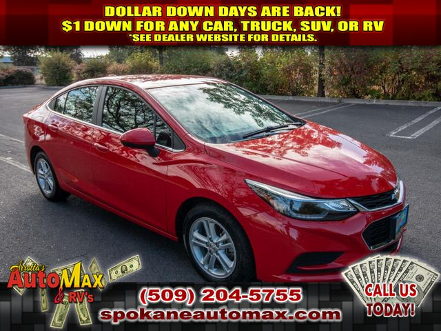 Pre-Owned 2017 Chevrolet Cruze LT 1.4L Front Wheel Drive Sedan