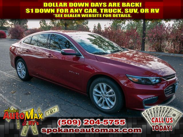 Pre-Owned 2016 Chevrolet Malibu LT 1.5L Front Wheel Drive Sedan