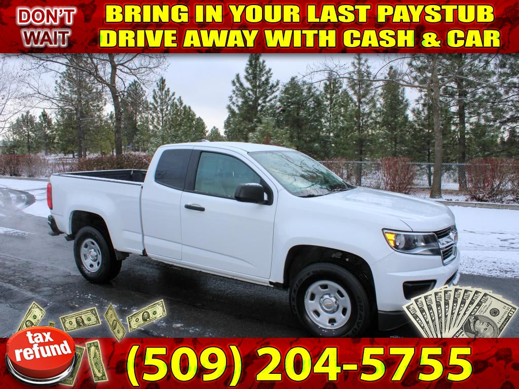 Pre-Owned 2016 Chevrolet Colorado 4WD LS 3.6L V6 4x4 Pickup Truck