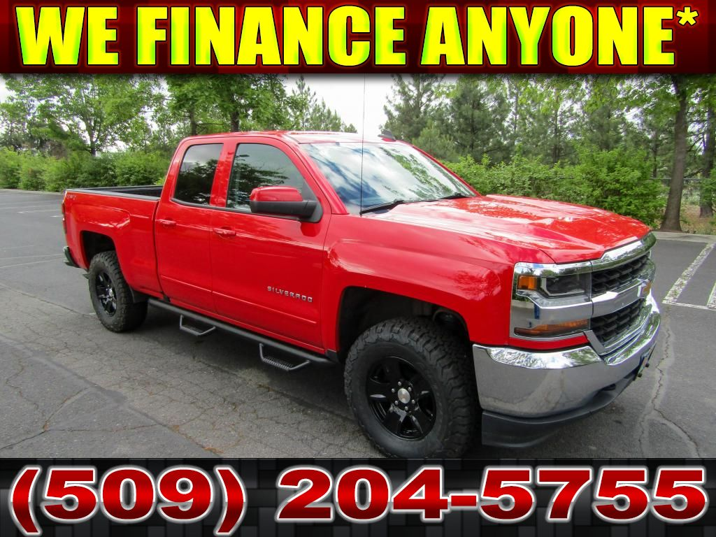 Pre-Owned 2018 Chevrolet Silverado 1500 LT 5.3L 4x4 LIFT+WHEELS+TIRES