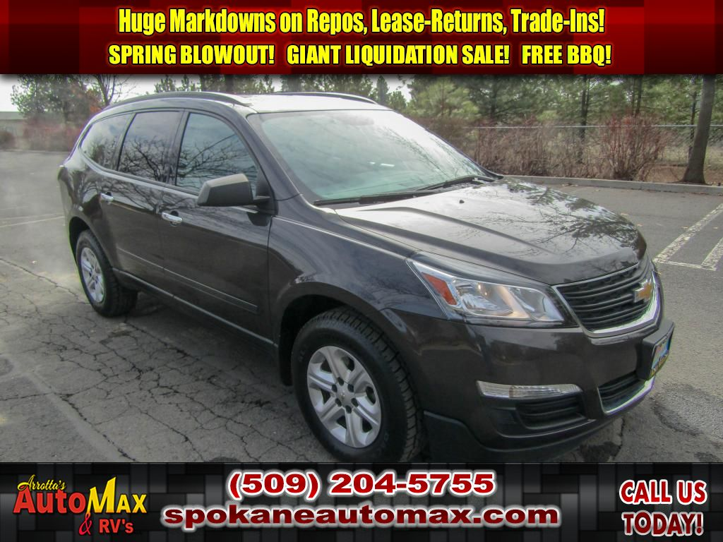 Pre-Owned 2016 Chevrolet Traverse LS 3.6L V6 FWD SUV