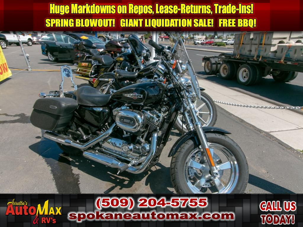 Pre-Owned 2015 Harley-Davidson XL 1200C 1200 Custom XL1200C
