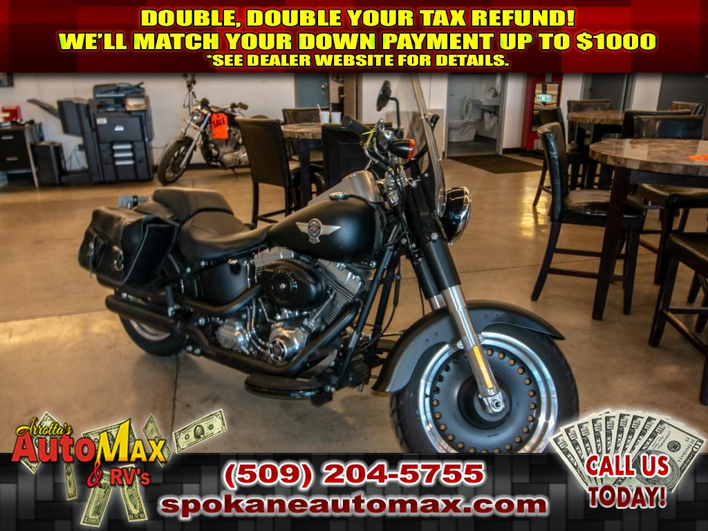 Pre-Owned 2010 Harley-Davidson FLD Fat Boy