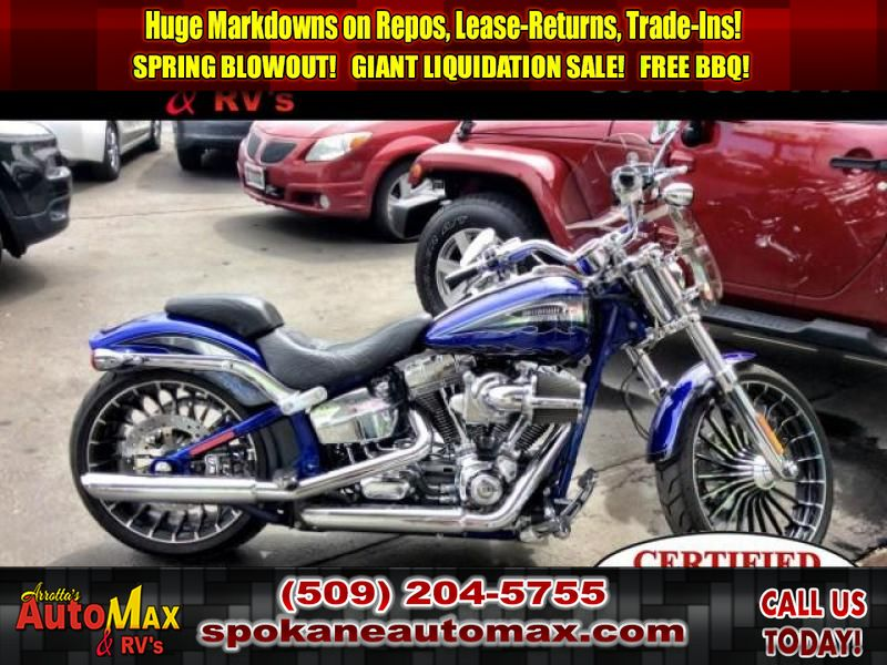 Pre-Owned 2014 Harley-Davidson FXSBSE CVO Breakout Custom package limited edition