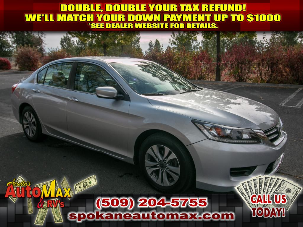 Pre-Owned 2014 Honda Accord LX 2.4L Front Wheel Drive Sedan