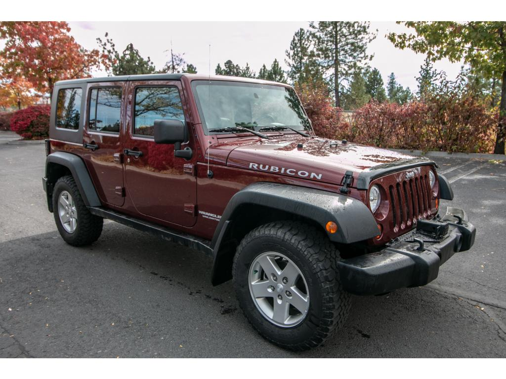 Pre Owned 2010 Jeep Wrangler Unlimited Rubicon 3.8L V6 4x4 SUV