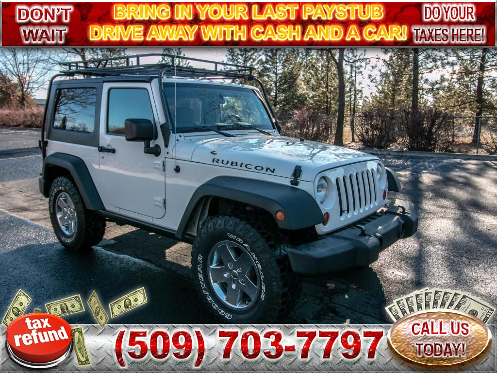 Pre-Owned 2009 Jeep Wrangler Rubicon 3.8L V6 4x4 SUV