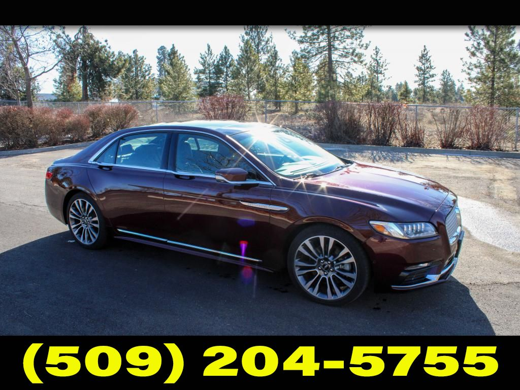 Pre-Owned 2017 Lincoln Continental Reserve 3.0L V6 AWD Sedan