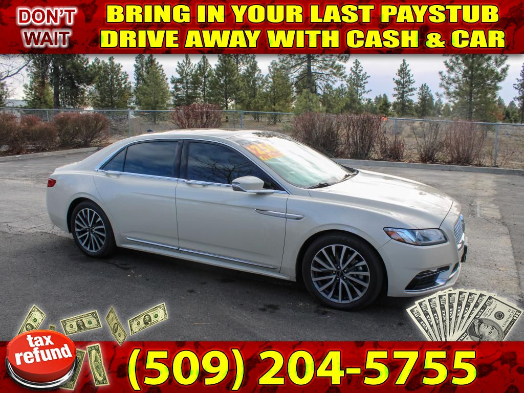 Pre-Owned 2018 Lincoln Continental Select 3.7L V6 FWD Sedan