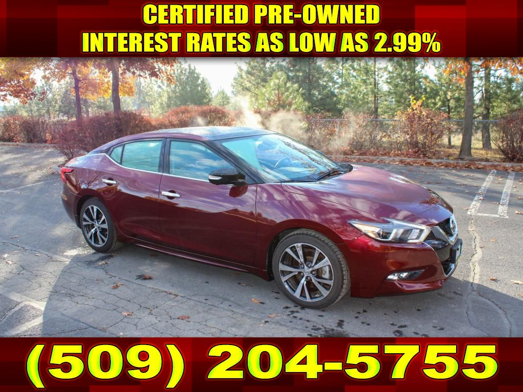 Pre-Owned 2017 Nissan Maxima PLATINUM 3.5L V6 FWD Sedan