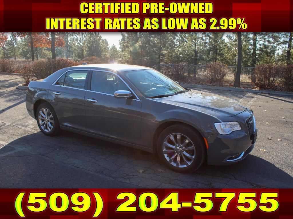 Pre-Owned 2019 Chrysler 300C Limited AWD Sedan Fully Loaded