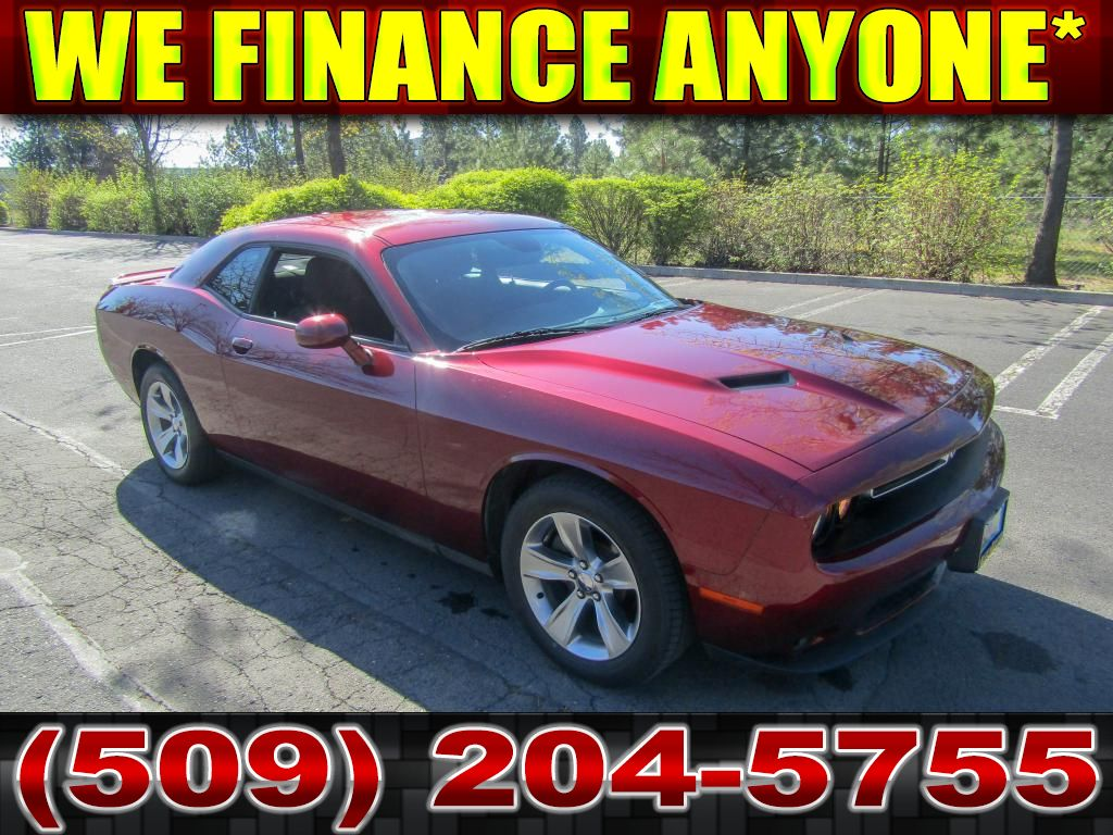 Pre-Owned 2018 Dodge Challenger SXT 3.6L V6 RWD Muscle Car