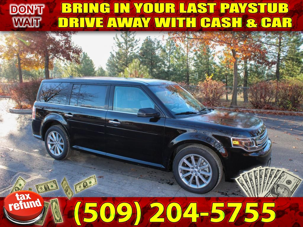 Pre-Owned 2019 Ford Flex Limited Fully loaded 3.5L V6 4x4 SUV