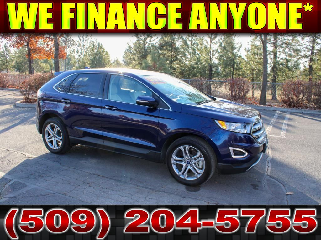 Pre-Owned 2016 Ford Edge Titanium 3.5L V6 AWD 4x4 SUV