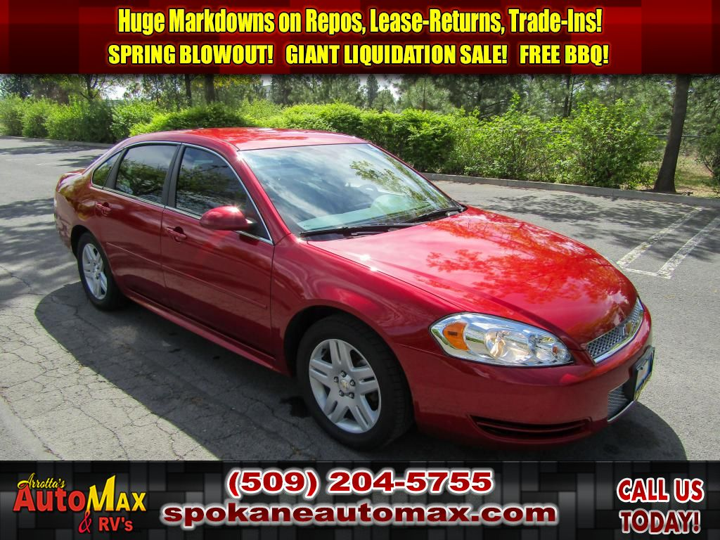 Pre-Owned 2014 Chevrolet Impala Limited LT 3.6L V6 Front Wheel Drive Sedan