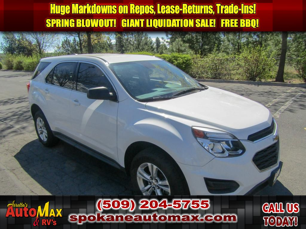 Pre Owned 2016 Chevrolet Equinox Ls 2 4l All Wheel Drive Suv