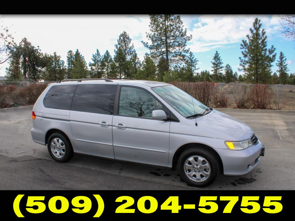 Pre-Owned 2002 Honda Odyssey EX-L w/Navigation/Leather