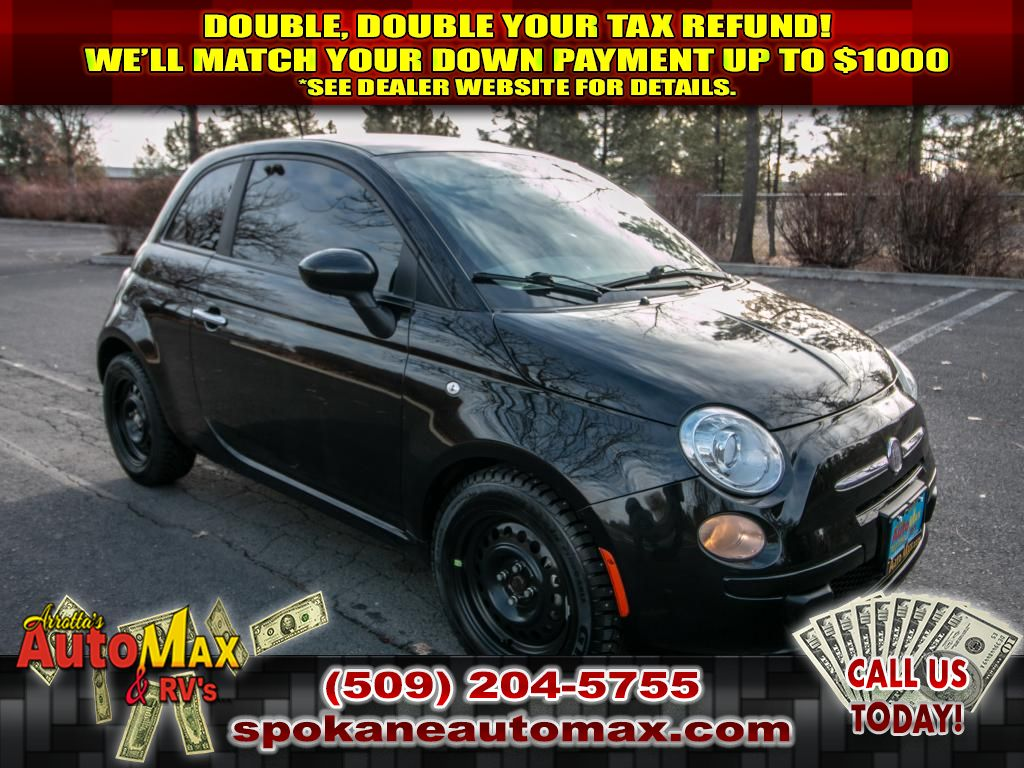Pre-Owned 2012 FIAT 500 Pop 1.4L Front Wheel Drive Hatchback
