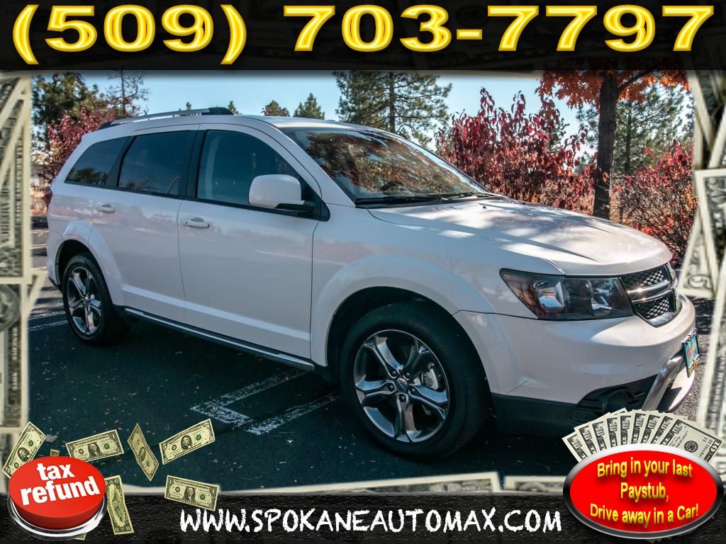 Pre Owned 2017 Dodge Journey Crossroad Plus 3 6l All Wheel Drive Suv