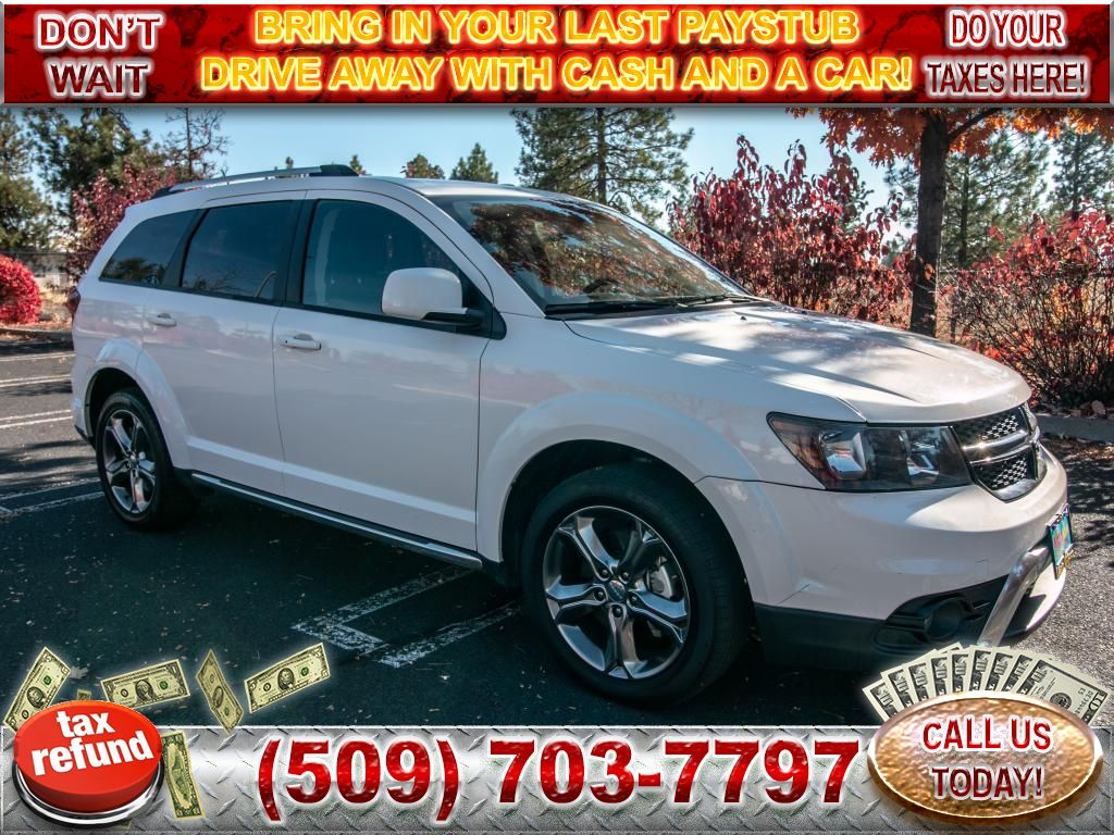 Pre-Owned 2017 Dodge Journey Crossroad Plus 3.6L All Wheel Drive SUV