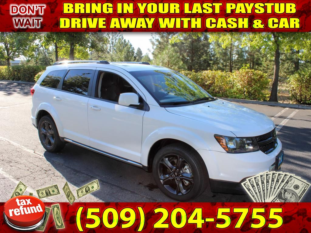 Pre-Owned 2018 Dodge Journey Crossroad LEATHER+3RD ROW AWD